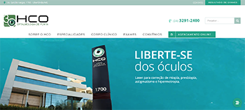 HCO Centro Completo de Oftalmologia for Best Medical Website