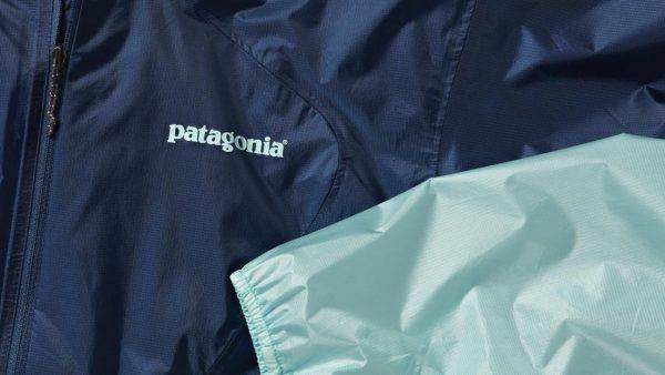 Blue Patagonia Windbreaker
