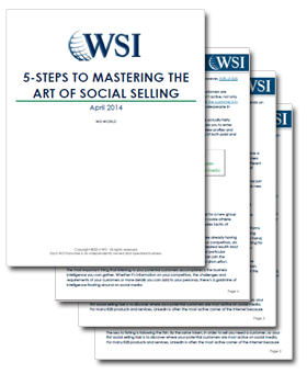 WSI World Blog - Whitepaper: 5-Steps to Mastering the Art of Social Selling Image 2