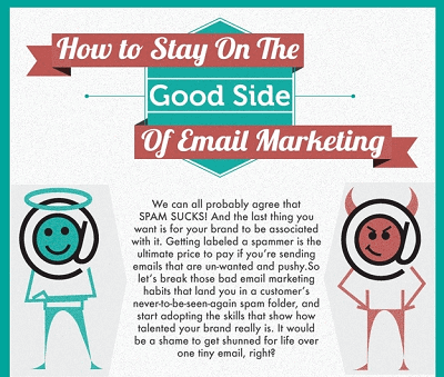 WSI World Blog - How To Stay On The Good Side Of Email Marketing Infographic Image 1