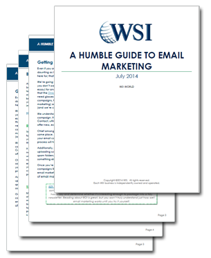 WSI World Blog - Whitepaper: A Humble Guide To Email Marketing Image 2
