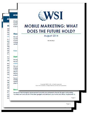 WSI World Blog - Whitepaper: The Future of Mobile Marketing Image 2