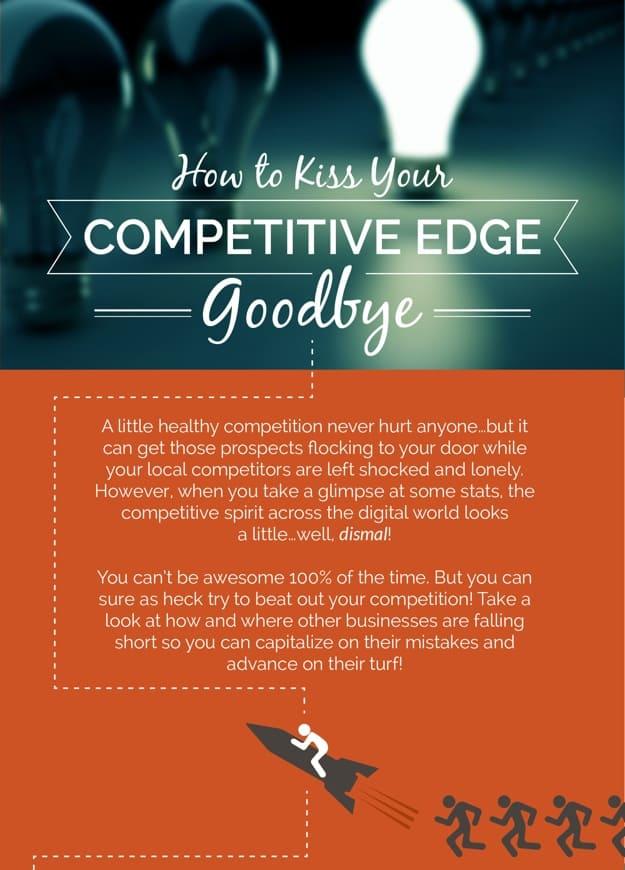 Infographic Gain Competitive Advantage
