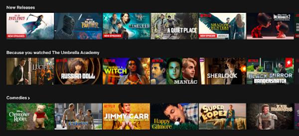 Netflix UX