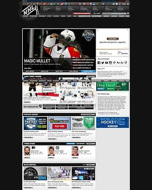 old nhl site