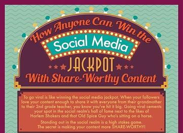 How To Win The Social Media Jackpot With Share-Worthy Content