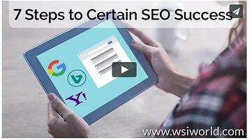 7 Steps to Certain SEO Success