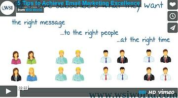 5 Tips to Achieve Email Marketing Excellence