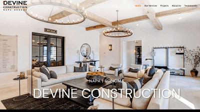 Devine-Construction-HubSpot-Screenshot