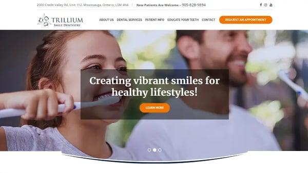Trillium-Smile-Dentistry-FullHome-HubSpot