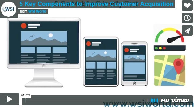 Screenshot of 5 Key Components to Improve Customer Acqusition video.