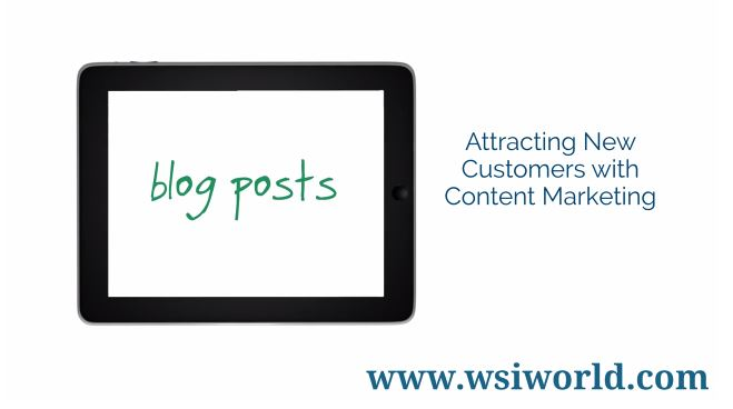 Screenshot of Attracting New Customers With Content Marketing video.