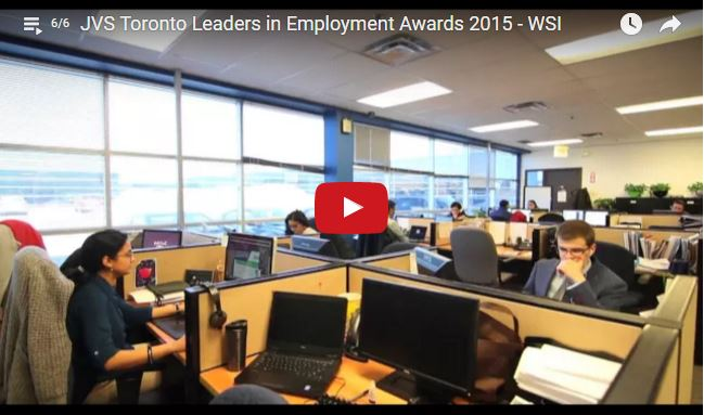 Screenshot of video of the WSI office.