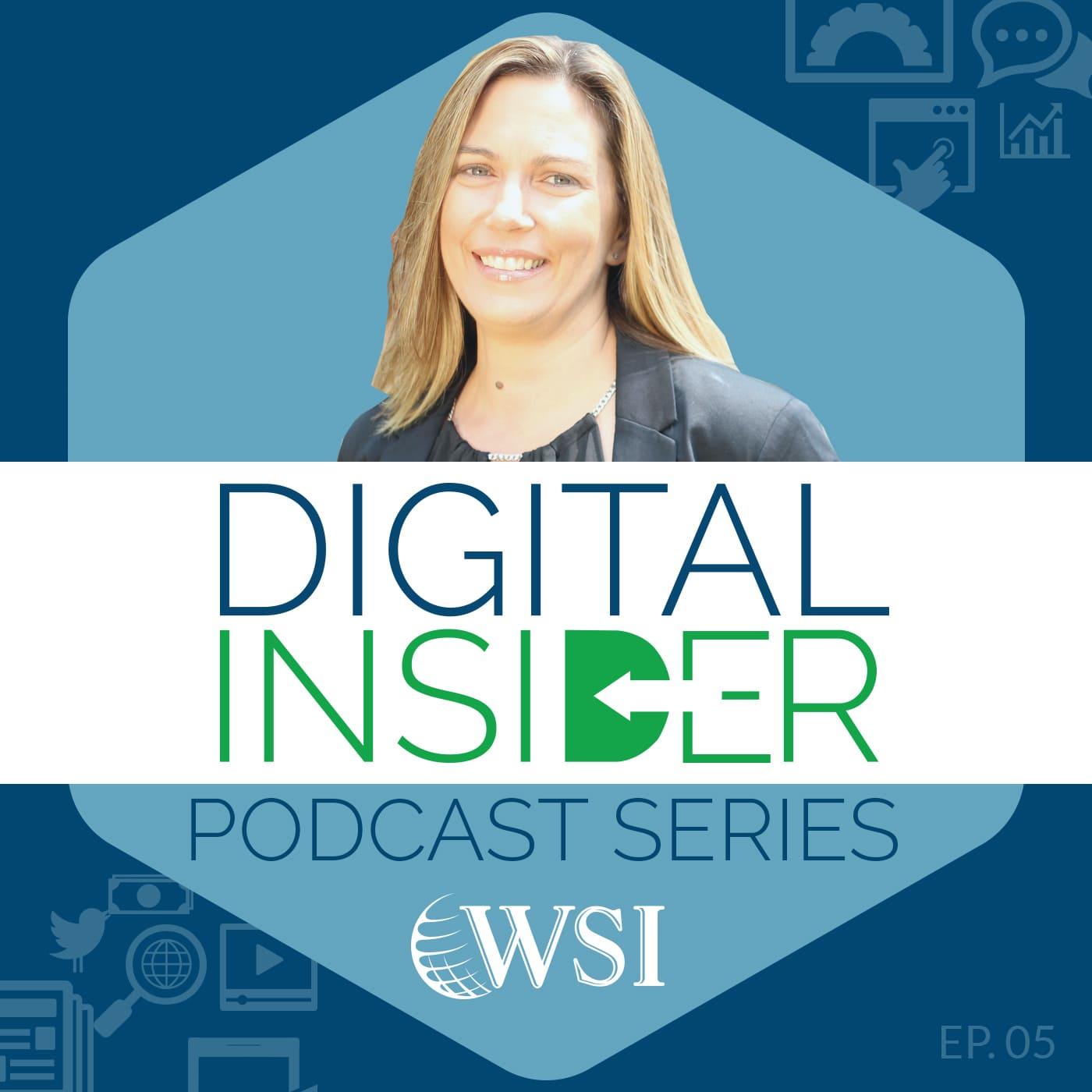 Screenshot of WSI's Podcast series.