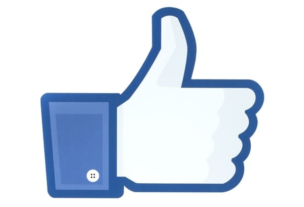 Facebook's Like Icon.