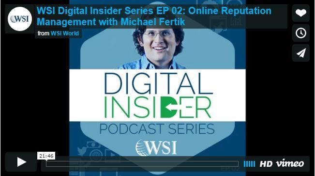 Screenshot of Digital Insider podcast.