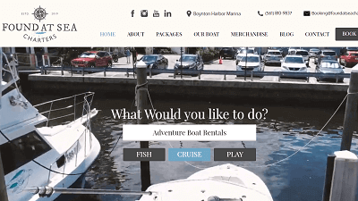 Found-At-Sea-Charters-HubSpot-Screenshot