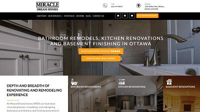 Miracle-Dream-Homes-HubSpot-Screenshot