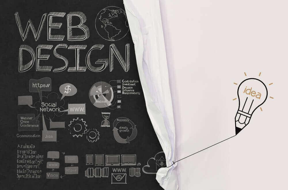 Web design graphic design.