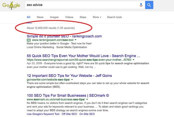 SEO Advice Straight From Google