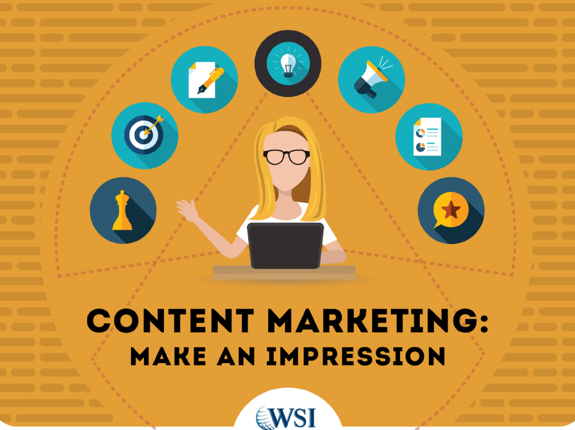 WSI eBook Content Marketing Make An Impression